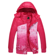 Kang stepped 2015 new cotton sport coat warm winter clothes ladies padded outdoor yard leisure sportswear