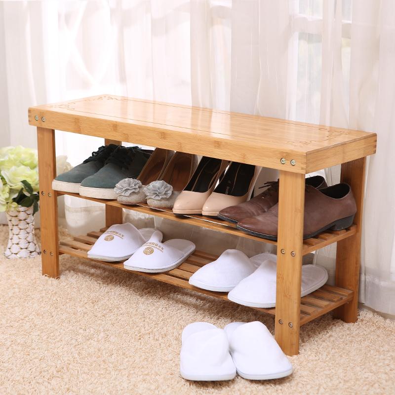 楠竹換鞋凳穿鞋凳子小鞋架門廳鞋凳 試穿鞋凳實木擱腳小凳子