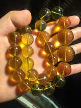 Instant permanent authentic guarantee the amber Jin Po blue amber big tower chain 13 to 23