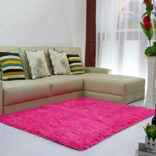 Cheap washable silk and wool carpet living room coffee table bedroom bay window shop for bedside carpet mats can be customized