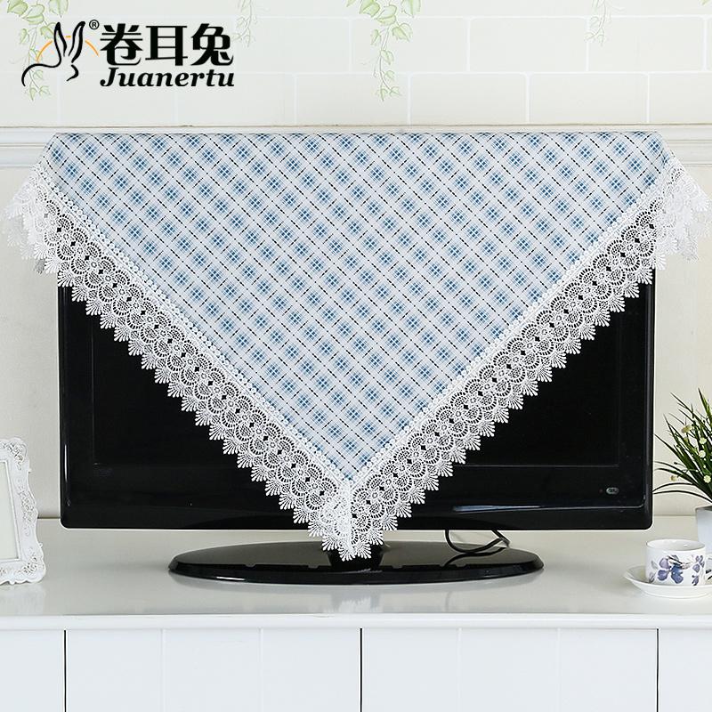 2016年 電視機罩田園布藝液晶電視防塵罩壁掛式電視蓋布505255