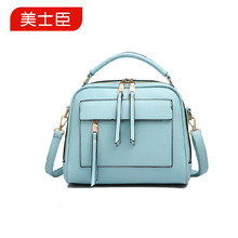 Beauty and I the new 2015 manufacturers selling PU handbag fashion office parcel one shoulder bag special female BaoXiaoFang bag