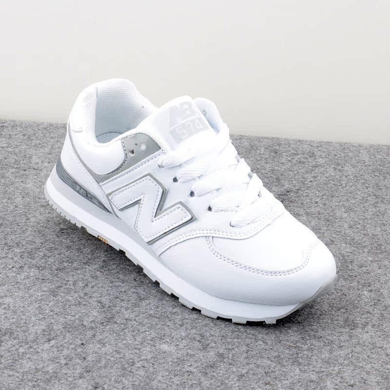 Новый белый обувь для бега n букв для осень/зима Корея ulzzang sneaker мягкая обувь повседневная обувь