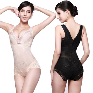 Seamless thin section postpartum abdomen waist hip sculpting leotard body shaping clothing corset slimming underwear
