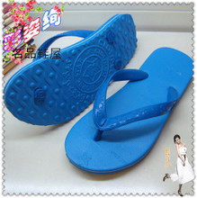 Special offer authentic Thai star horse natural rubber slipper wearing flip-flops Men and women leisure flip-flops