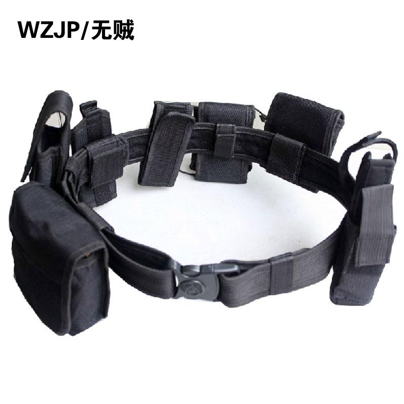 WZJP вор свободный нейлон холст набор восемь вооруженных безопасности пояса, оборудован открытый проведение подготовки ремень ремень