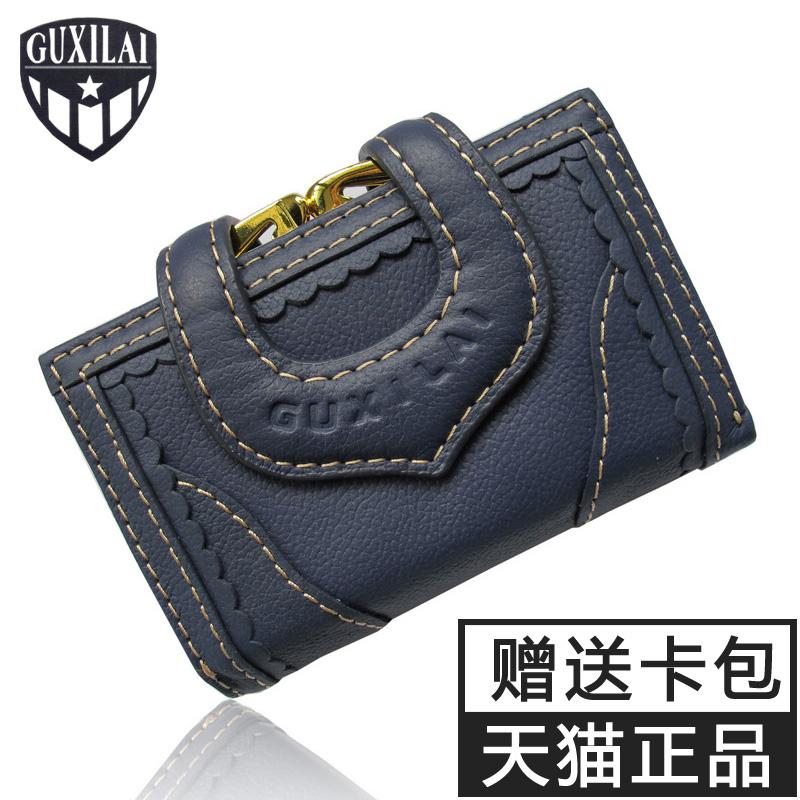 Guxilai моды сумки новый 2016 Винтаж Корейский кожаный пиджак Купированные кожа женщин бумажник кошелек