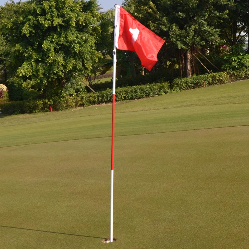 Гольф зелень флаг знак зелень флагшток флаг сын сталь тело гольф зелень пещера чашка комплект