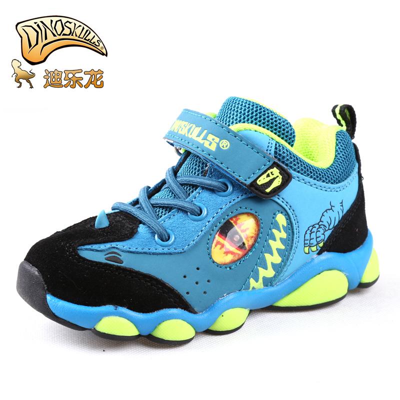 迪乐龙新款儿童休闲运动鞋恐龙鞋拍下39元包邮