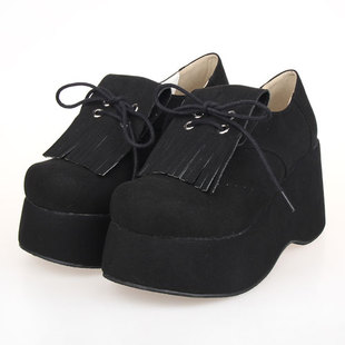 The new hot LOLITA shoes muffin with a single shoe 9658