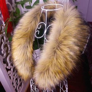Имитация имитация меховой воротник лиса воротник енот топы шляпу имитация меха кролика шарф воротником поддельные зима
