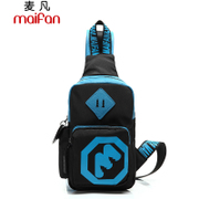 Maifan chest Pack package new Korean wave package for men and women fashion leisure Sport bags satchel shoulder bag