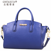 Fall/winter leather women bag 2015 new suede cow leather swing bag bat wings baodan shoulder handbags