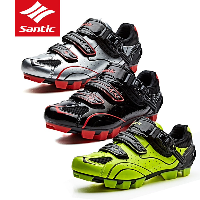 Santic sendiko cycling lock shoes mens mountain bike cycling equipment shoes cycling shoes professional cycling shoes Knight