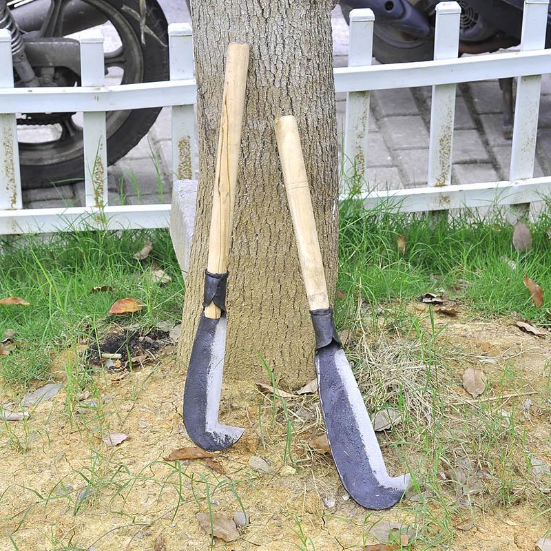 Открытие на открытом воздухе дрова нож серп изгиб нож серп плодовое дерево ремонт вырезать филиал нож косить трава сельское хозяйство инструмент вырезать бамбук нож 111920