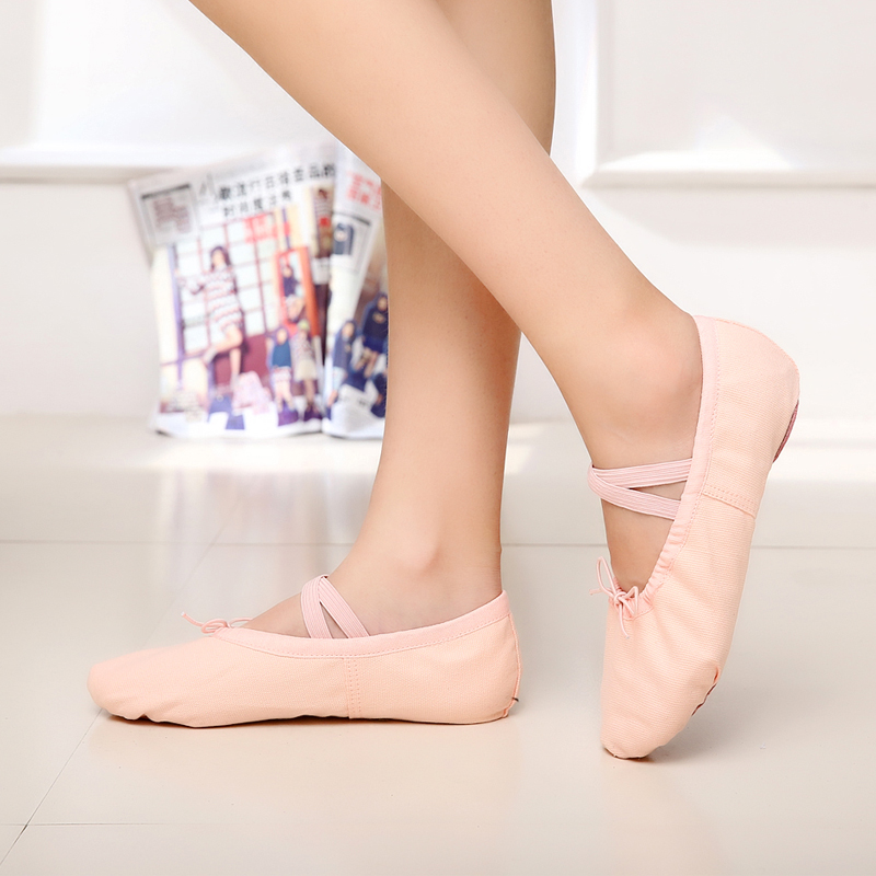 Для взрослых младенец ребенок танец обувной мягкое дно девочки танцы обувной балет обувной кошачий обувной йога обувной форма тело практика гонг обувной