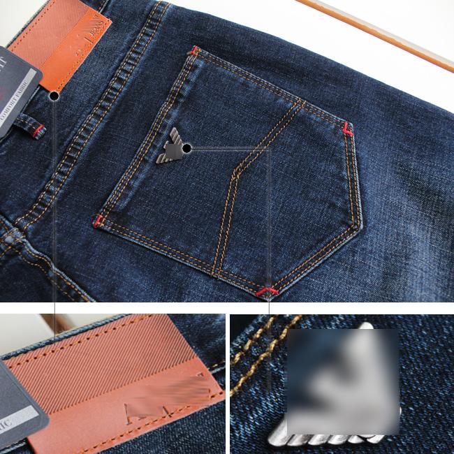 Мягкие Lan Даннинг простой и красивый бизнес в весной 317 прямо мужчин джинсы размер 40