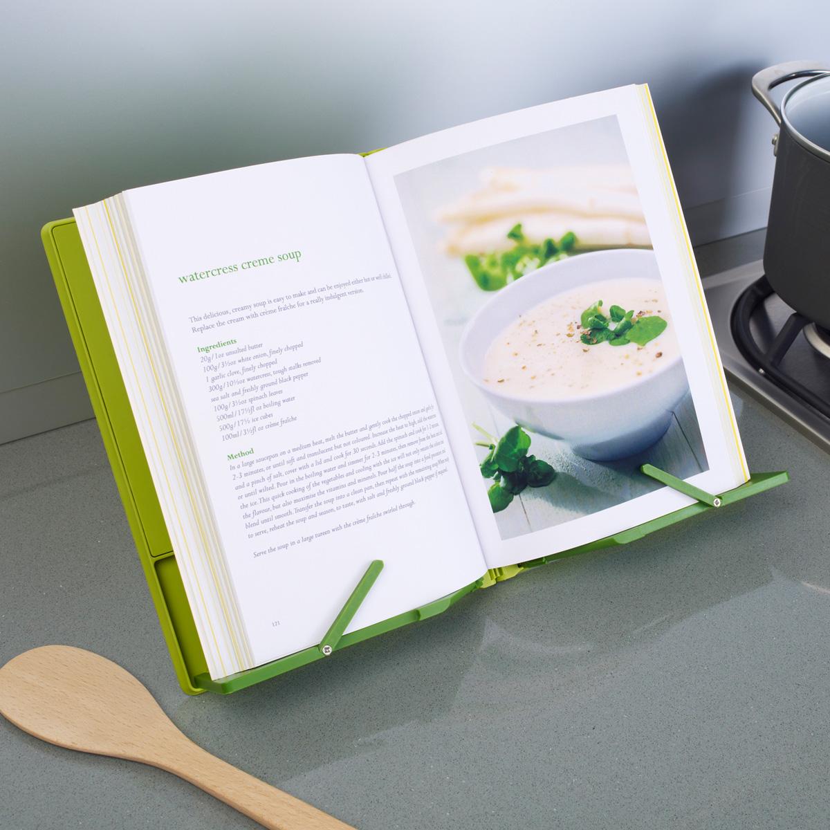Великобритания Джозеф Джозеф аутентичные творческая кухня полка складные рецепты кулинарной стенд Книжная полка