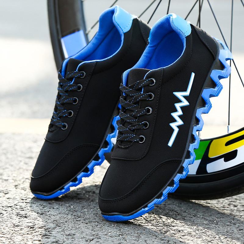 Осень новый летний студент мужской воздухопроницаемый обувь casual низкий холст спортивной обуви корейская волна струиться работа обувь сын