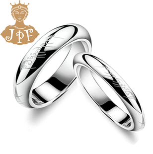 JPF Korean version of Lord of the Rings tail ring of men and women of the ring finger rings couple rings can be engraved creative