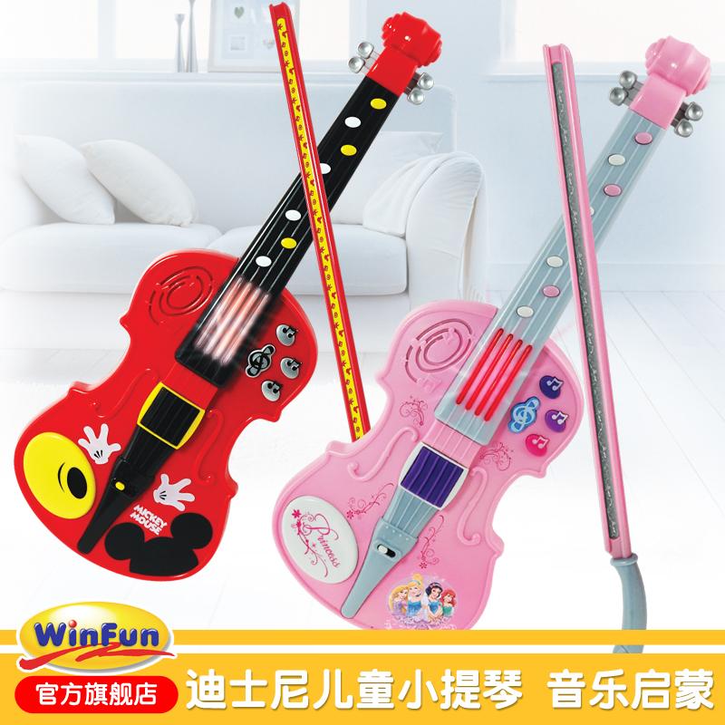 Disney скрипка игрушка ребенок может бомба играть музыкальные инструменты ребенок начинающий обучения в раннем возрасте просветить музыка гусли девушка подарок