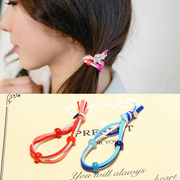 Know Richie band Han Fan string acrylic Korea hair accessories Korean headdress rope Candy-colored jewelry