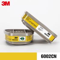 3M 6002 фильтрующий ящик лабораторный кислотостойкий газ / хлор / хлористый водород / диоксид серы / / сероводород