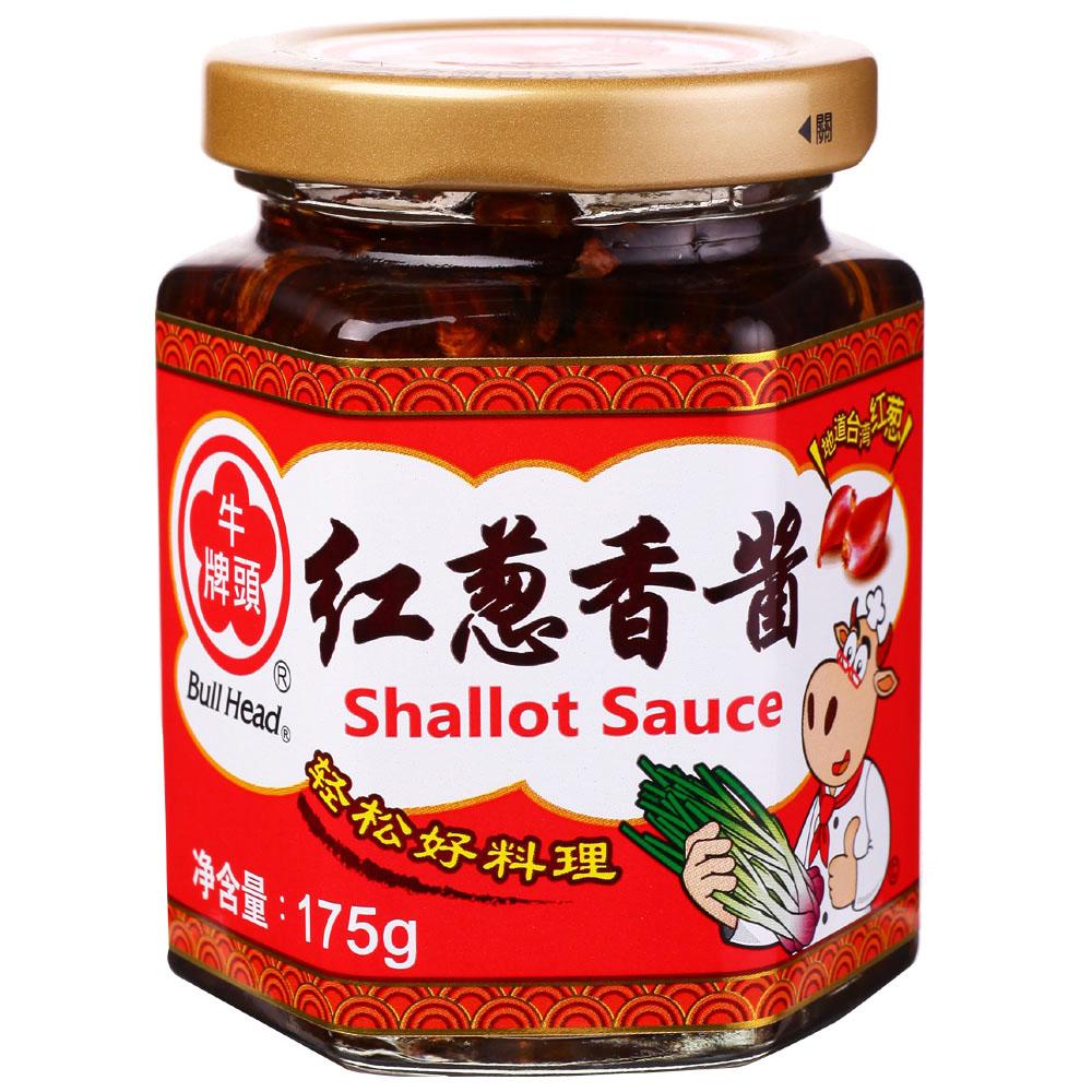 ~天貓超市~中國 牛頭牌紅蔥香醬 175g 瓶小瓶燒菜下廚房