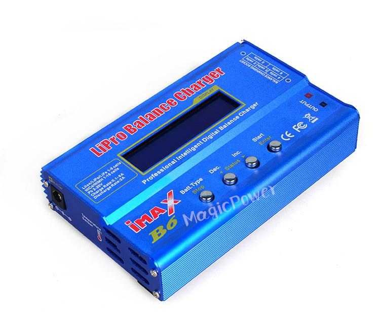 -Макс B6 B6AC многофункциональный интеллигентая(ый) баланс штекер зарядного устройства/зарядки/t-XT60 разъемы