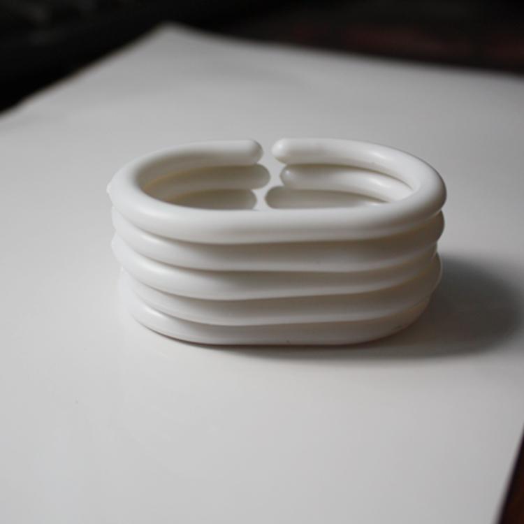 Бесплатная доставка пластик C кольцо занавески для душа монтаж висячие кольцо занавески для душа поляк занавески для душа занавес занавес подключить пластик Big C крюк кольцо