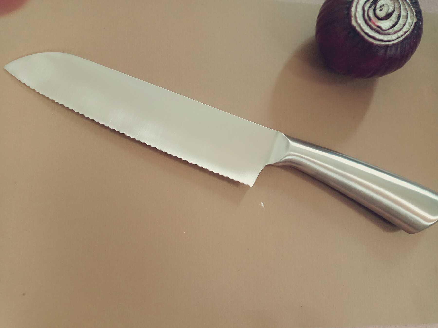 Для импорта Экспорт замороженного мясного ножа зазубренный нож из нержавеющей стали резак замороженный мясорезы замороженный нож для резки мяса оттаивающий нож