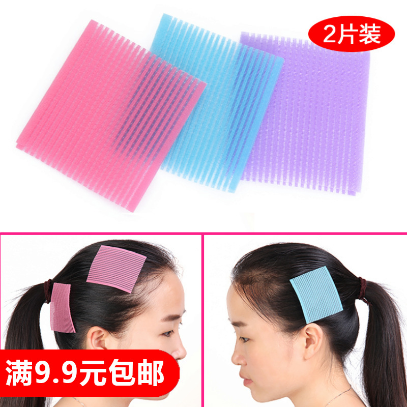 Корея дети девушка аксессуары для волос выпуск карты головной убор волосы заметка бесшовный магия челка паста палка волосы шпилька аксессуары