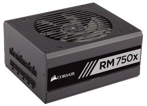 美商海盗船 RM750x 额定750W金牌 全模组 台式机电脑主机静音<span class=H>电源</span>