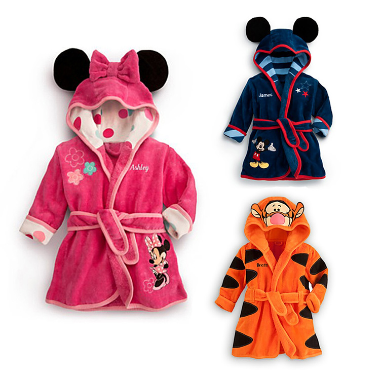 Специальные пакеты mail 16 Детская одежда Весна детей пижамы мальчиков пижамы для мужчин и женщин комфорта дома платье коралловых ватки Халат