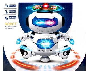 劲风炫舞者智能电动机器人360度旋转跳舞