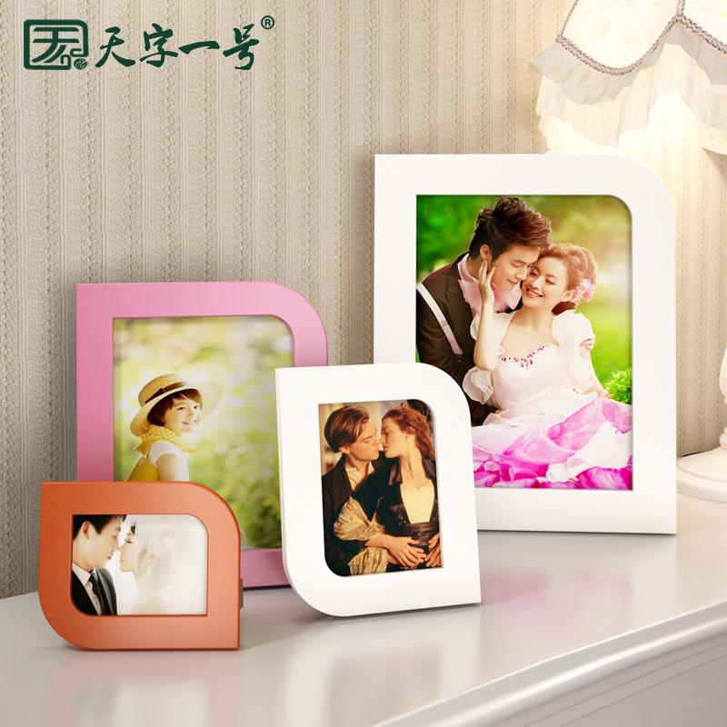 結婚照 相框擺台掛牆六七寸5 6 7 8 10 16寸像框小相片框照片