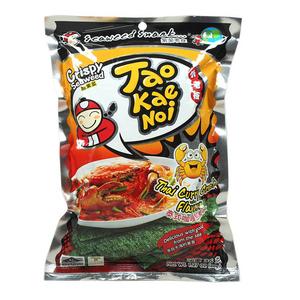 【天猫超市】泰国进口 小老板调味海苔 泰式咖喱蟹风味 36g 零食