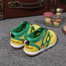 Function of ha Xiong Xia leisurely style infant baby toddler shoes for men and women shoes soft bottom sandals sports network 0-1-2 years old