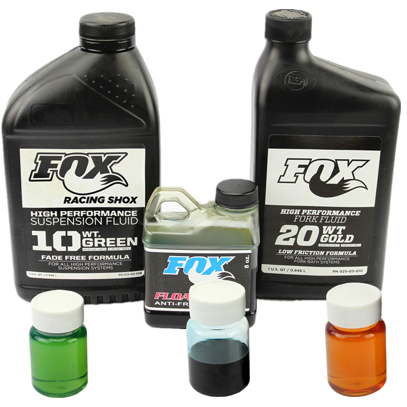 正品行� FOX霍斯前叉阻尼油前后避震10W20W8zo叉筒�馐冶pB油