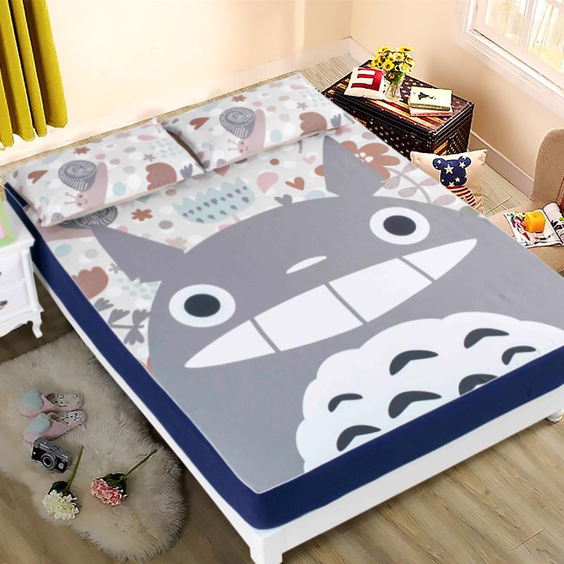 卡通床笠單件床罩防滑加厚床墊保護套雙人1.8米床1.2兒童床笠床套
