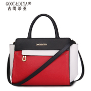 Leather women bag 2015 fall/winter fashion color flashes bat bag swing Pack ladies hand slung shoulder bag