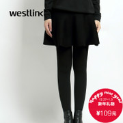 Westlink/West New 2015 winter two piece skirt wearing leggings thick warm socks