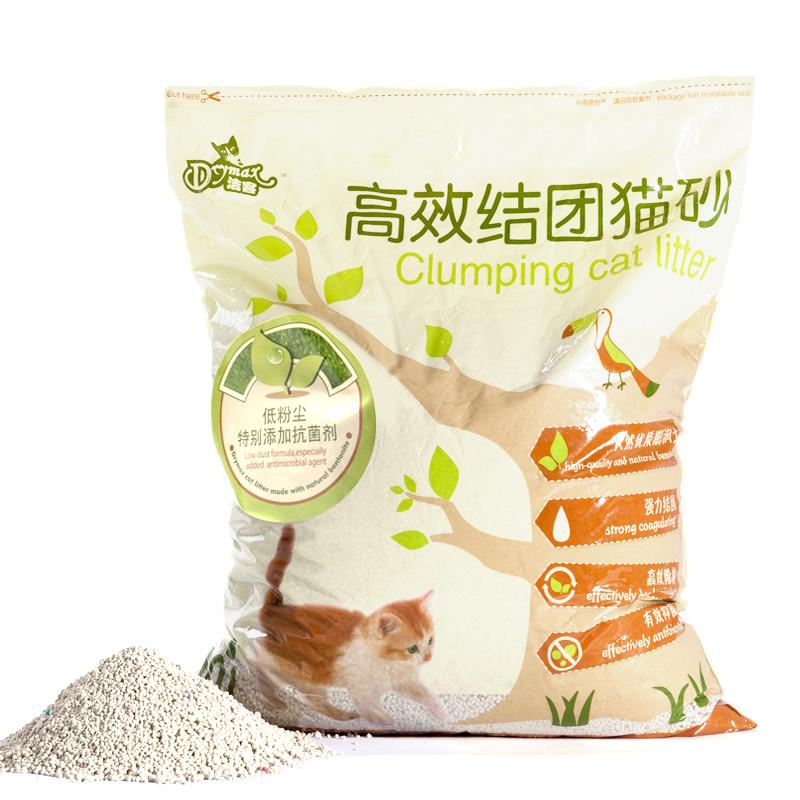 潔客貓砂 膨潤土無粉塵貓沙 10L結團 貓廁所寵物除臭貓砂貓咪用品