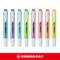 德国STABILO思笔乐荧光笔275乐酷cool便携式记号笔标记笔划重点