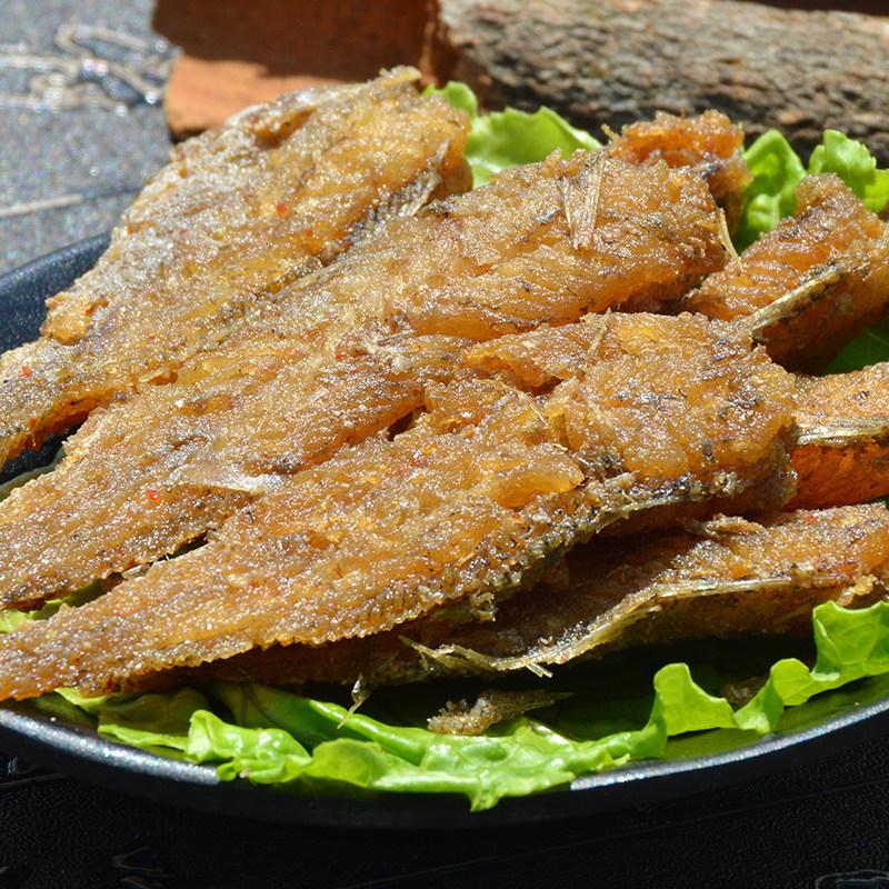 舟山富元香酥小黄鱼100g  舟山特产即食零食小吃