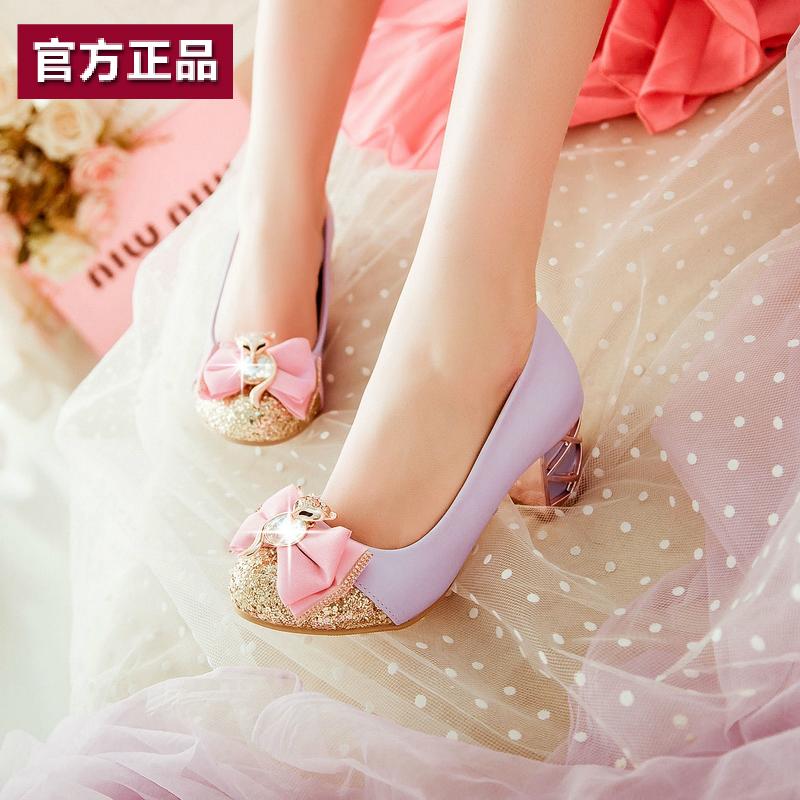 大童皮鞋12-15岁春秋女童高跟鞋小女孩学生单鞋舞蹈鞋儿童公主鞋