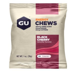 2015新 装GU Chomps Pure Performance Energy Chews 能量咀嚼糖
