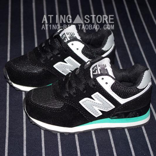 к 2015 году весна новые кроссовки для девочек и мальчиков NB кроссовки небольшая обувь для двойного слоя latticed ткань Повседневная обувь