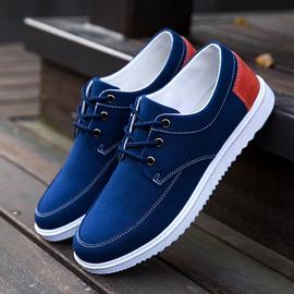 秋季帆布鞋男士休闲鞋男韩版布鞋男鞋运动平板鞋透气学生潮流鞋子