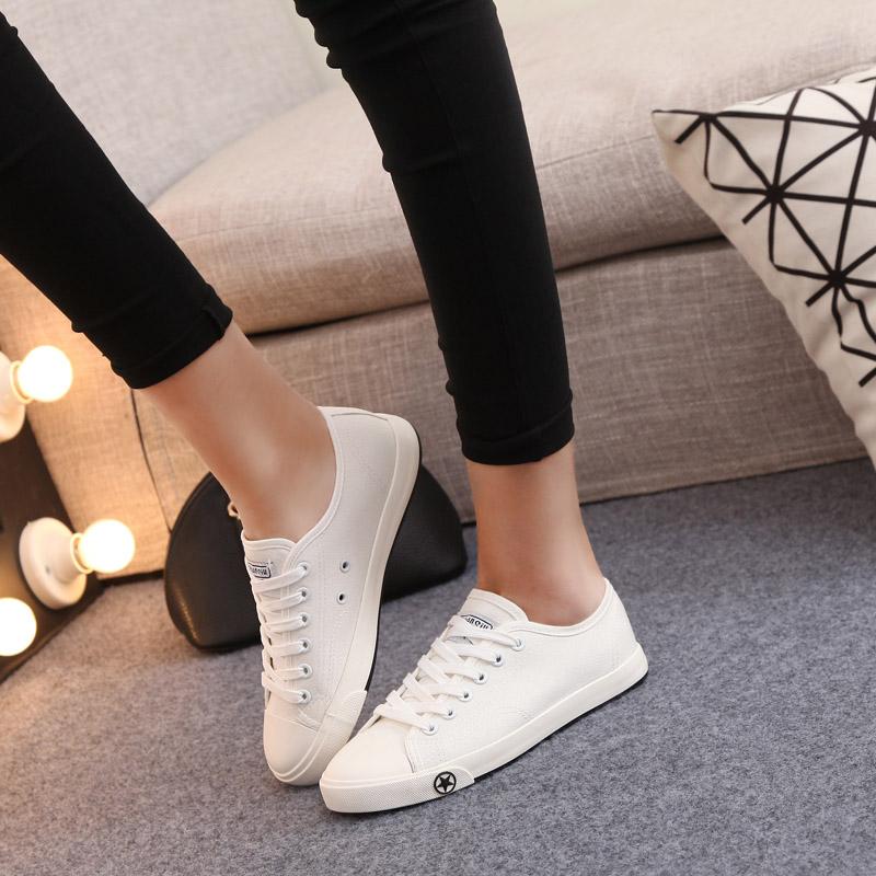 Global 2016 новый холст обувь повседневная обувь Корейский чистый твердый отлива обуви обуви любителей обувь